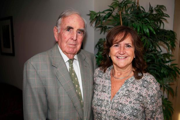 Máire-Anne and her father Brian who is living with dementia