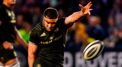 'Leinster's hamstring epidemic continues unabated. Fergus McFadden, after injuring his hamstring in the Heineken Cup semi-final, injured it again and is out for four or five months.' Photo: Sportsfile