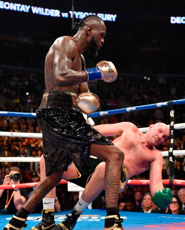 WBC heavyweight title fight: Wilder, Fury in stunning draw