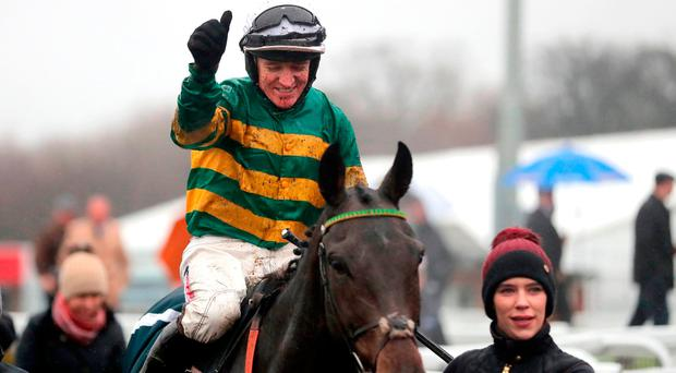 Samcro staying over hurdles despite proving no match for Buveur D'Air