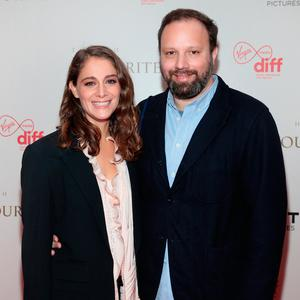 Director Yorgos Lanthimos and Ariane Labed at the screening of The Favourite at the Lighthouse Cinema. Picture: Brian McEvoy