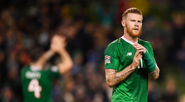 James McClean hits back after Fianna Fail election candidate brands him 'divisive'