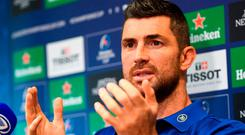 Rob Kearney believes Stuart Lancaster would leave a big hole at Leinster if he was to take a role with Ireland. Photo: Ramsey Cardy/Sportsfile