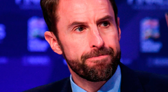 Southgate expressed particular frustration that young players were not receiving first-team opportunities. Photo by Stephen McCarthy/Sportsfile