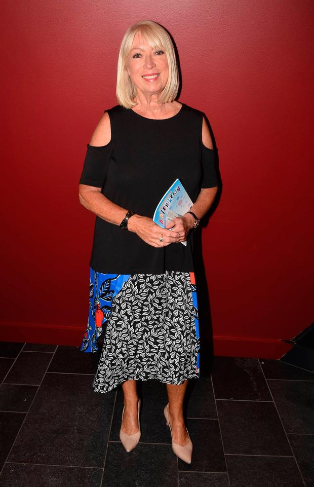 Anne Doyle at the Hairspray opening night at Bord Gais Energy Theatre