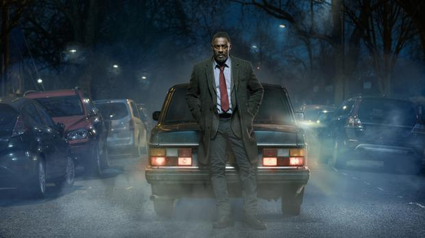 DCI John Luther, played by Idris Elba. (BBC/Des Willie)