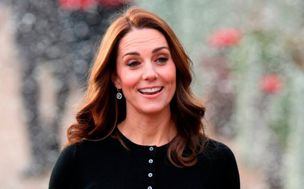 Princess' trust: Kate Middleton has worn Orla Kiely coats on a number of occasions. Photo: PA