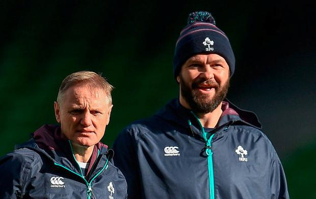 The IRFU confirmed that rugby league legend, Andy Farrell, will succeed Schmidt and lead Ireland to the 2023 tournament. Photo: Seb Daly/Sportsfile