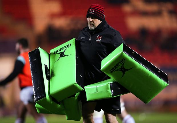 Ulster head coach Dan McFarland. Photo: Chris Fairweather/Sportsfile
