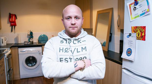 """A father has told how his family """"hit rock bottom"""" after their landlord evicted them, saying the property was to be sold - only for it to be let out at a higher rent."""
