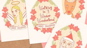 Paper magic: Christmas cards by Rachel Corcoran