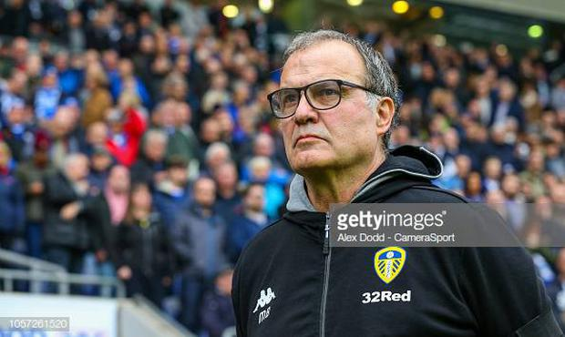 Leeds United manager Marcelo Bielsa. (Photo by Alex Dodd - CameraSport via Getty Images)
