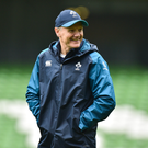 23 November 2018; Head coach Joe Schmidt during the Ireland Rugby Captain's Run at the Aviva Stadium in Dublin. Photo by Matt Browne/Sportsfile