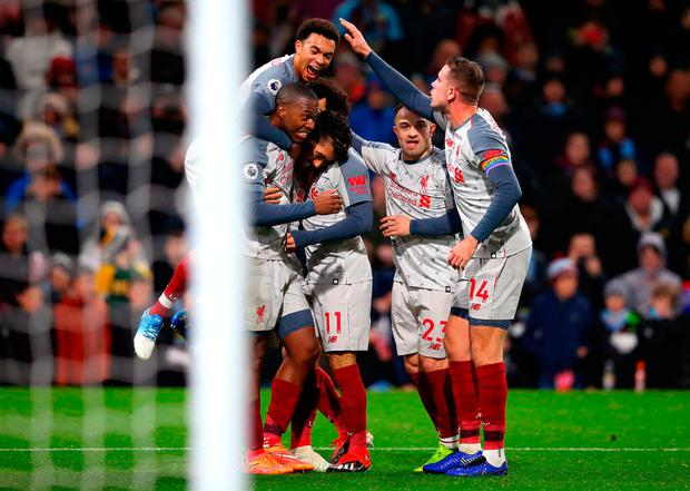Burnley boss Dyche accuses Liverpool of 'cheating.'
