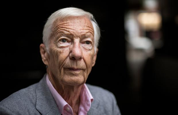 Legend: 83-year-old former jockey Lester Piggott is in hospital for routine tests, said his daughter. Photo: Tom Jenkins/Getty Images