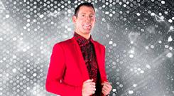 Blue turns red: Five-time All-Ireland winner Denis Bastick hopes his football fitness will come in handy on the RTÉ dancefloor