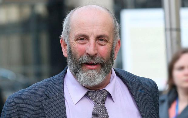 Danny Healy Rae: TD says he will not tender for disputed wind farm work. Photo: Damien Eagers