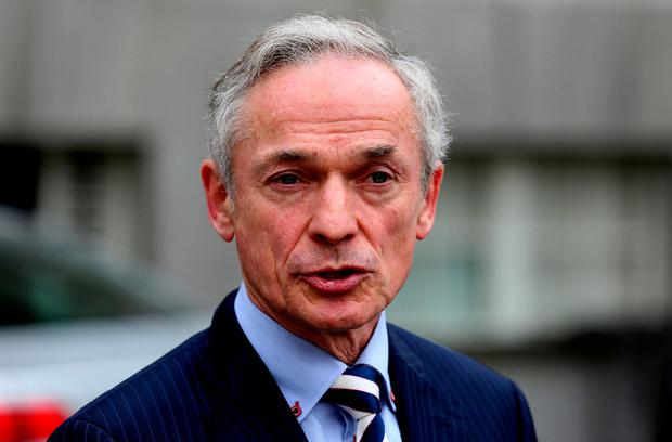 Mr Bruton welcomed the emission cuts, but highlighted that the State was 'far off course' to meet its international obligations. Photo: Tom Burke