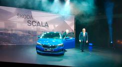 The reveal signals a whole new design era for Skoda. Photo: Eddie Cunningham.