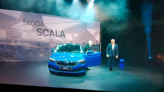 The reveal signals a whole new design era for Skoda