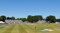 The England game and the tri-nations tournament will be played at Malahide and Clontarf, while Bready and Stormont in the North will host the Afghanistan and Zimbabwe games. Photo: Seb Daly/Sportsfile