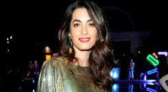 Criticism: Amal Clooney spoke about Trump attacking press. Photo: John Sciulli/Getty Images for Farfetch