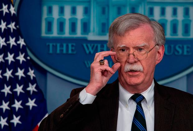 John Bolton: Said President Trump wants a second summit with Mr Kim. Photo: AFP/Getty Images