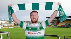 Jack Byrne. Photo credit: George Kelly/Shamrock Rovers F.C