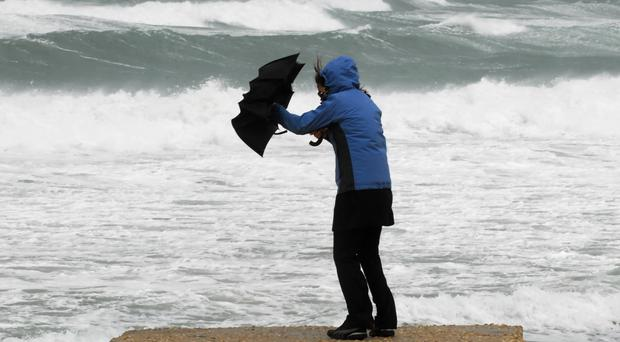 Storm Gareth: thousands of homes left without power as 120kmh winds slam into coast
