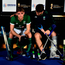 Ireland's Jeremy Duncan consoles team-mate Lee Cole after the World Cup defeat to England in Bhubaneswar. Photo: Charles McQuillan/Getty Images