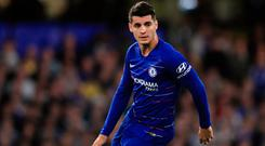 Alvaro Morato has failed miserably to live up to his €65m Chelsea price tag. Photo: Getty