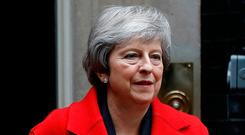 'It's impossible to believe a highly focused individual such as Mrs May is without a backup idea.' Photo: Reuters