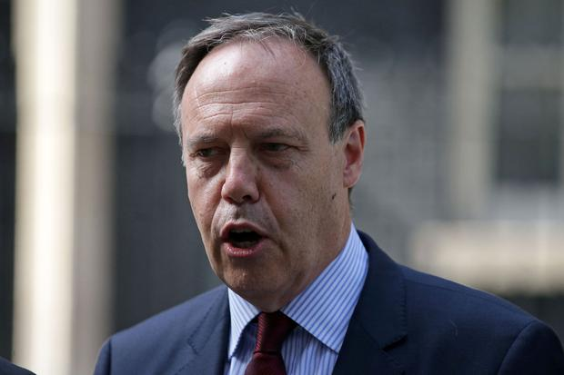 'Nigel Dodds needs to be careful what he wishes for. Events could lead to a Jeremy Corbyn-led Labour government in power.' Photo: AFP/Getty Images