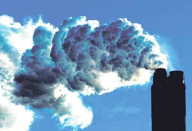 Burning issue: Plans are in place to make the EU climate neutral by 2050. Photo: John Giles/PA