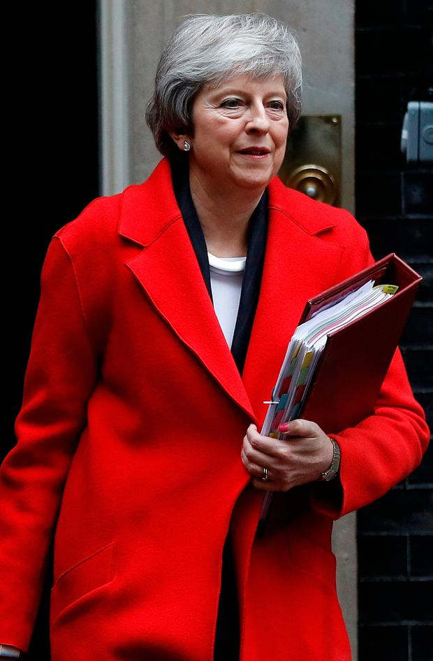 British Prime Minister Theresa May. Photo: REUTERS/Peter Nicholls
