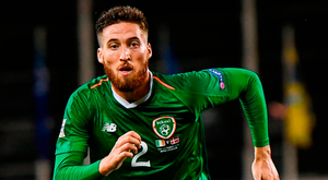 McCarthy also knows Doherty is good enough to be a long-term replacement at left-back for Stephen Ward'. Photo: Stephen McCarthy/Sportsfile