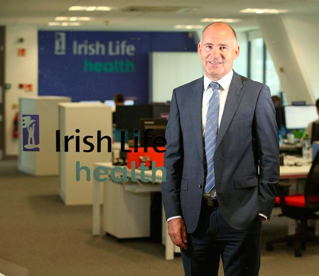 Jim Dowdall of Irish Life Health