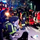 Six people died in a stampede at a nightclub in central Italy after panic erupted in the early hours of December 8 morning. Photo: Vigili del Fuoco/AFP