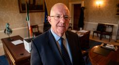 PROPER GAUGE: Minister for Justice Charlie Flanagan TD, who wants to be measured by his department's true output