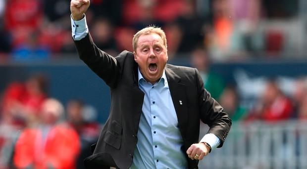 English Former Football Manager Harry Redknapp Is Crowned King of I'm A Celebrity...Get Me Out of Here! 2018 BRISTOL, ENGLAND - MAY 07: Harry Redknapp, Manager of Birmingham City (Photo by Michael Steele/Getty Images)