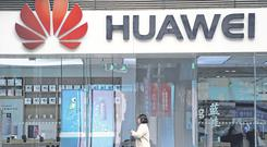 Trade wars: Huawei has been targeted by US officials. Photo: Aly Song/Reuters