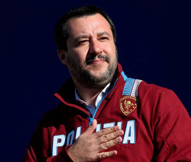 Matteo Salvini: Interior minister said 1,400 tickets had been sold. Photo: Alessandro Bianchi/Reuters