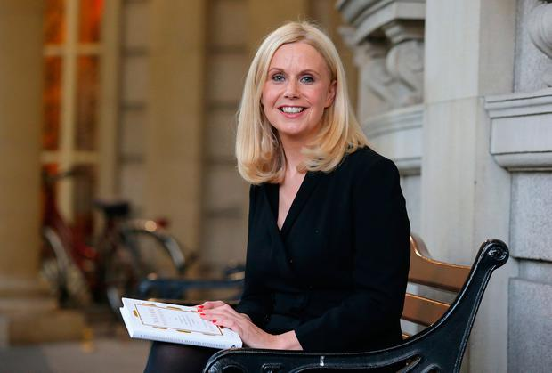 Surprise: Martina Fitzgerald has been RTÉ's political correspondent for the past five years. Picture: Damien Eagers