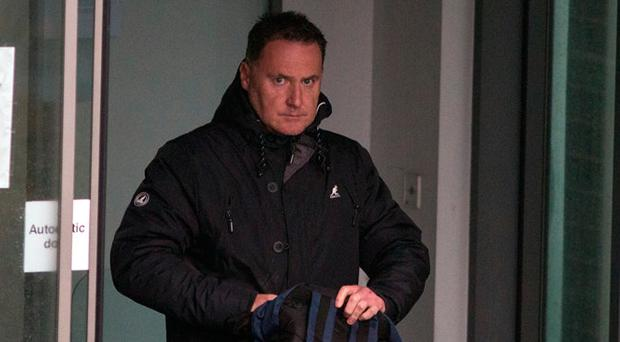 Philip Brown was caught filming the two women in Blanchardstown shopping centre. Photo: Herald News