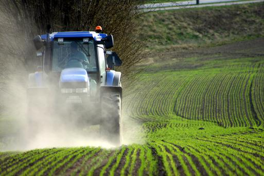 The CSO figures also show that used (imported) tractors licenced between January and November of this year has decreased slightly to 2,042 imported tractors, from 2,307 licensed in the first 10 months of 2017. (stock picture)