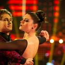 AJ Pritchard and Lauren Steadman have been eliminated (BBC)