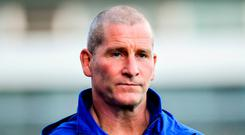 Lancaster: 'Very happy' at Leinster. Photo: Ramsey Cardy/Sportsfile