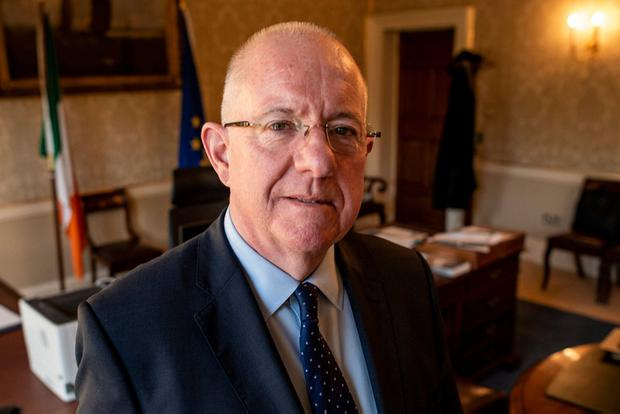 Charlie Flanagan: Justice Minister says he is trying to resolve issue. Photo: Doug O'Connor