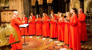 The Christ Church Cathedral Choir sings five times a week at 6pm