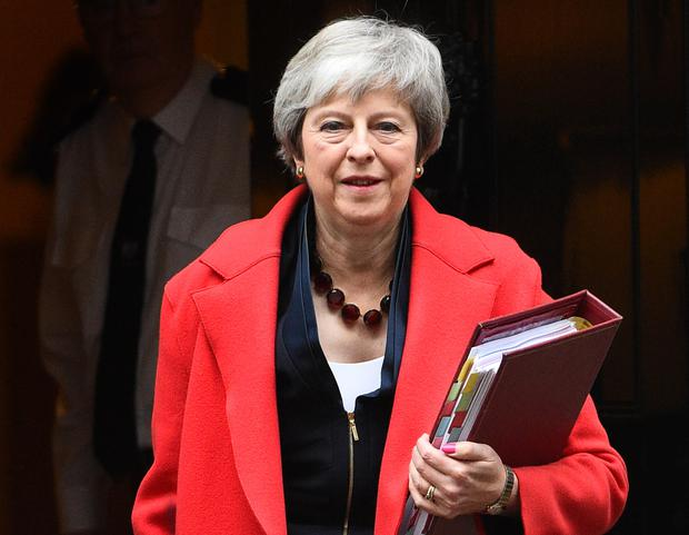 Prime Minister Theresa May was the butt of one of the new jokes (Kirsty O'Connor/PA)
